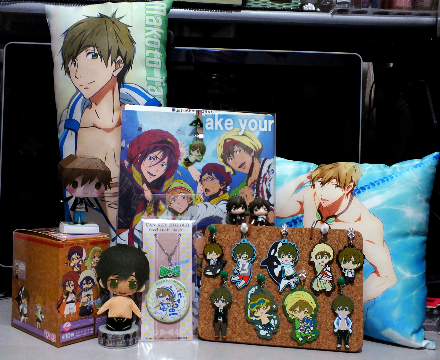 strap badge movic cushion hobby_stock rubber_strap sol_international kyoto_animation colorfull_collection pic-lil! yupon contents_seed nanase_haruka free! tachibana_makoto colorfull_collection_-_free! pic-lil!_free!_trading_strap free!_yura_yura_clip_collection free!_clear_rubber_strap_~in_vacation~ ooji_kouji free!_clear_rubber_strap_~in_oasis~ free!_can_key_holder pic-lil!_free!_trading_strap_2fr