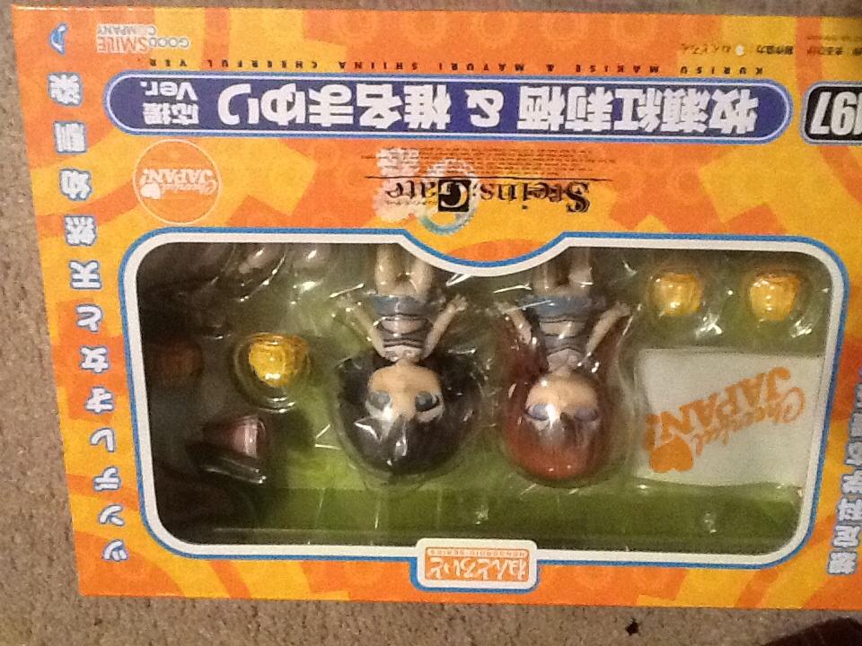 nendoroid good_smile_company steins;gate makise_kurisu nitroplus maruhige shiina_mayuri cheerful_japan!