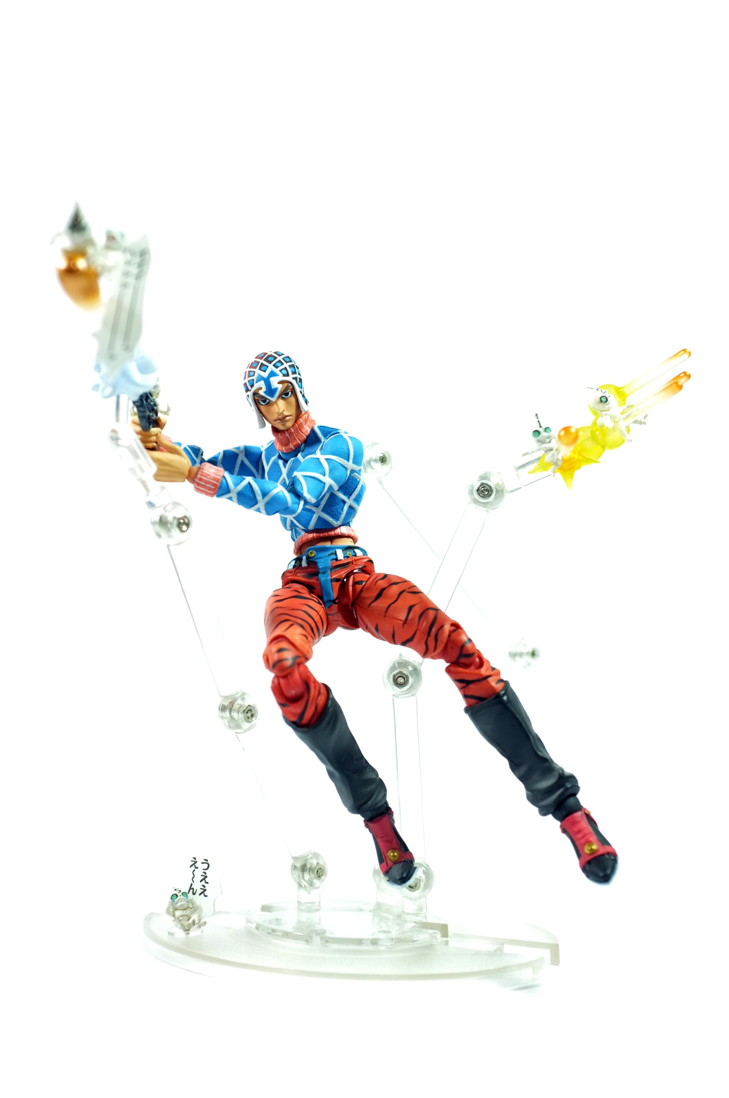 super_action_statue shueisha jojo_no_kimyou_na_bouken guido_mista medicos_entertainment progress sex_pistols vento_aureo lucky_land_communications