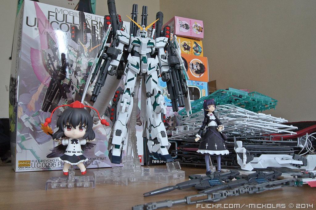 figma touhou_project nendoroid max_factory good_smile_company bandai mg shameimaru_aya ore_no_imouto_ga_konna_ni_kawaii_wake_ga_nai nendoron team_shanghai_alice asai_(apsy)_masaki jun_(e.v.) gokou_ruri kidou_senshi_gundam_uc rx-0_full_armor_unicorn_gundam