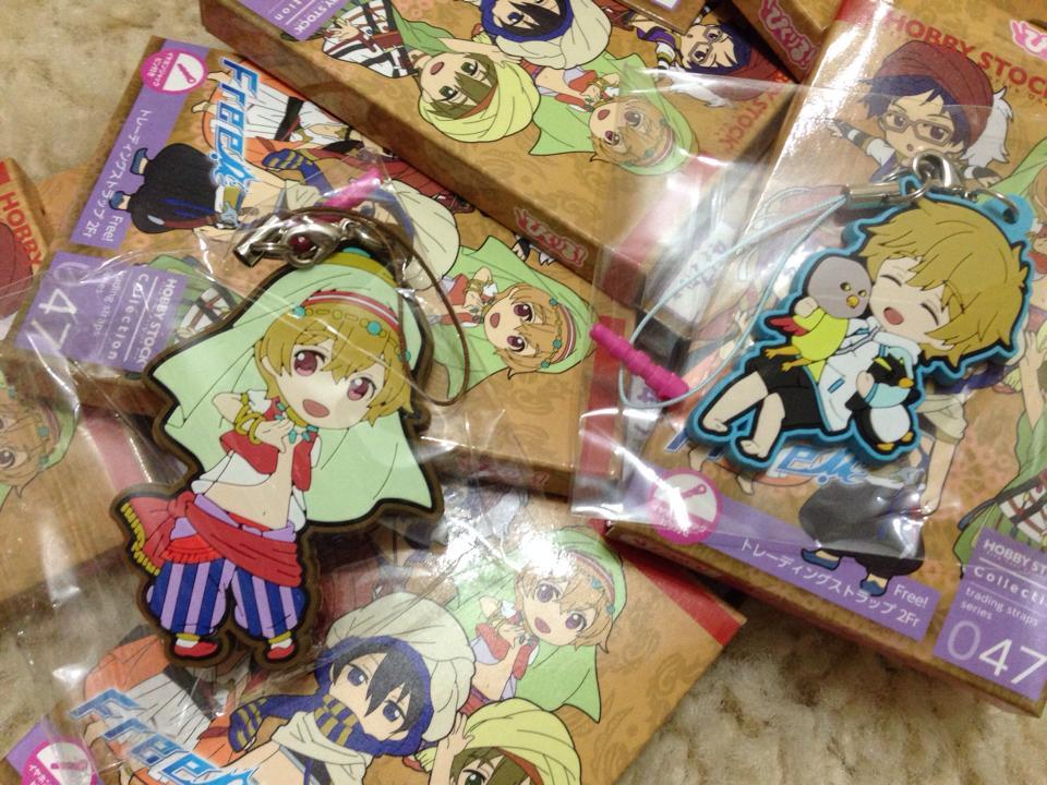 hobby_stock rubber_strap pic-lil! free! hazuki_nagisa pic-lil!_free!_trading_strap_2fr iwatobi-chan