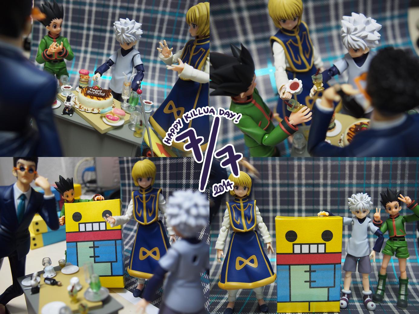 figma max_factory birthday banpresto shueisha asai_(apsy)_masaki hunter_x_hunter dx_figure togashi_yoshihiro gon_freecss kurapika leorio killua_zoldyck vap madhouse