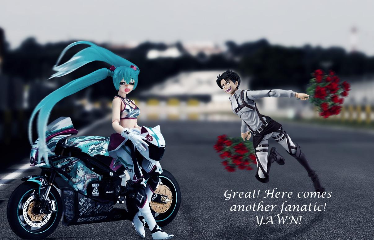 figma vocaloid hatsune_miku max_factory freeing good_smile_company ex:ride koshinuma_shinji asai_(apsy)_masaki crypton_future_media good_smile_racing kodansha shimazaki_mari saito_masatsugu shingeki_no_kyojin isayama_hajime levi