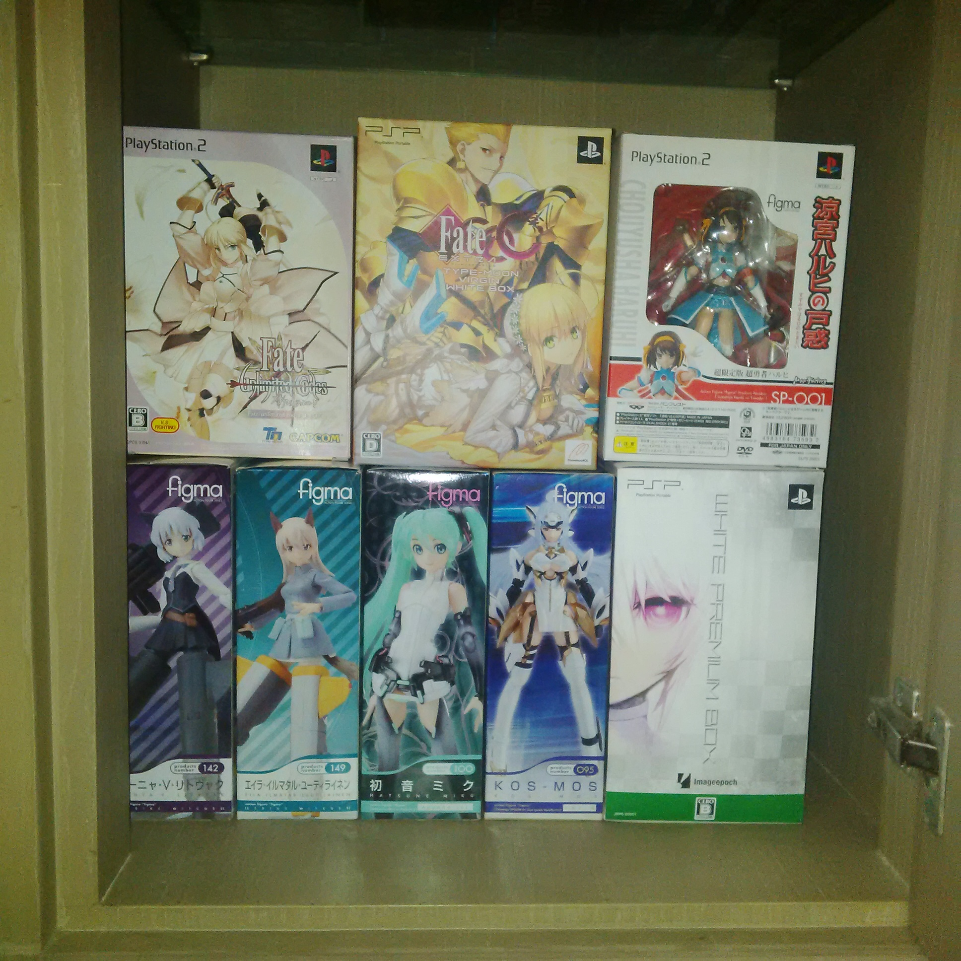 figma huke capcom max_factory type_moon saber_lily kos-mos fate/unlimited_codes xenosaga_episode_iii:_also_sprach_zarathustra asai_(apsy)_masaki white_★_rock_shooter nasu_kinoko takeuchi_takashi fate/extra_ccc saber_bride psp_game wada_rco ps2_game imageepoch black_★_rock_shooter_-_the_game tange_sakura marvelous_aql cavia bandai_namco_games_inc.