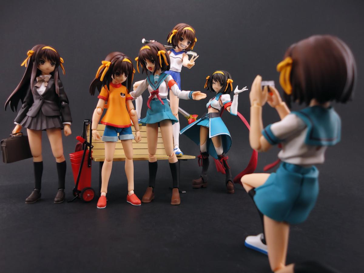 figma max_factory suzumiya_haruhi suzumiya_haruhi_no_yuuutsu suzumiya_haruhi_no_shoushitsu asai_(apsy)_masaki itou_noiji tanigawa_nagaru suzumiya_haruhi_no_tomadoi