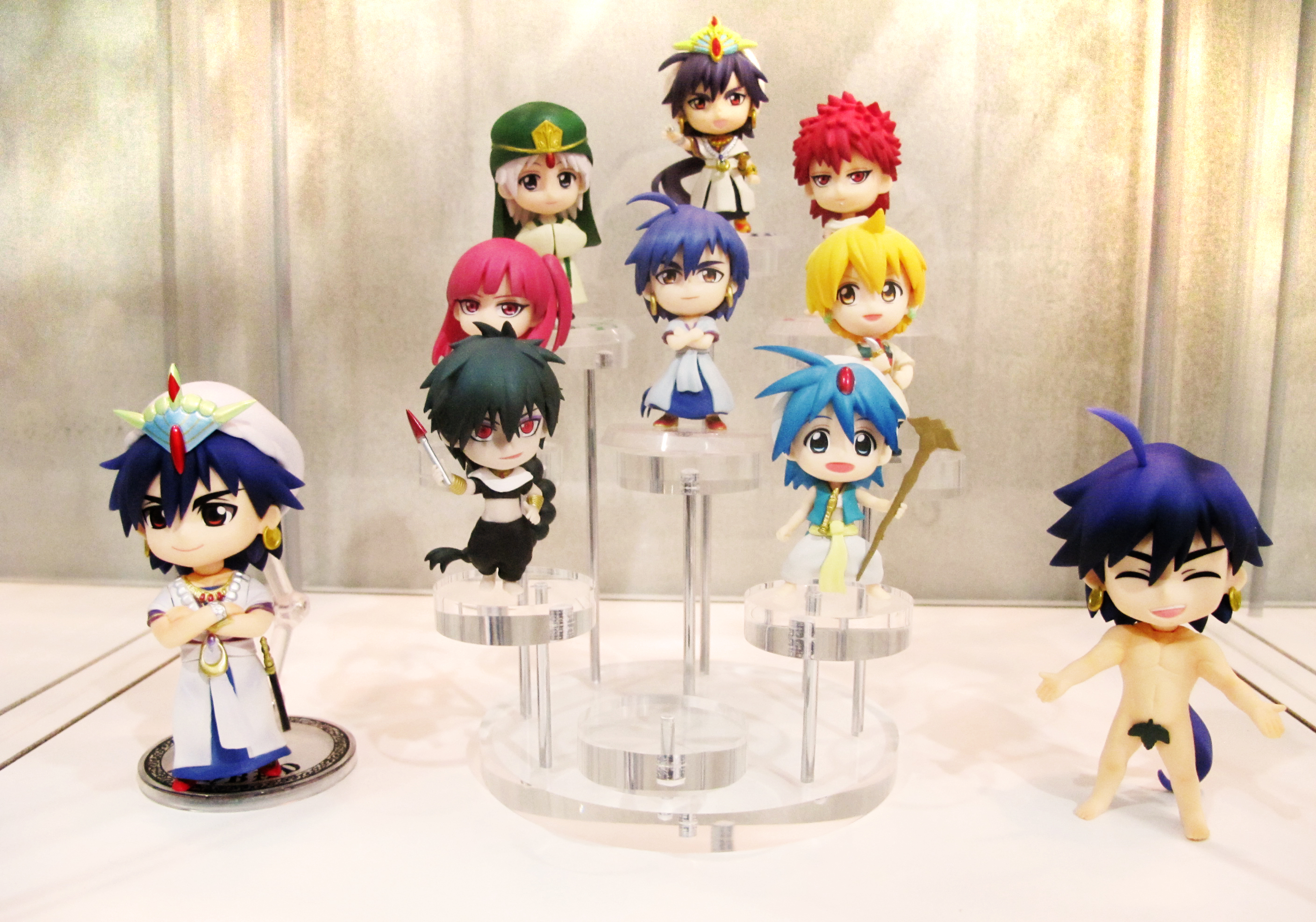 banpresto bandai ichiban_kuji chibi-arts chibi_kyun-chara aladdin magi_-_labyrinth_of_magic judal morgiana alibaba_saluja ja'far sinbad masrur ichiban_kuji_magi