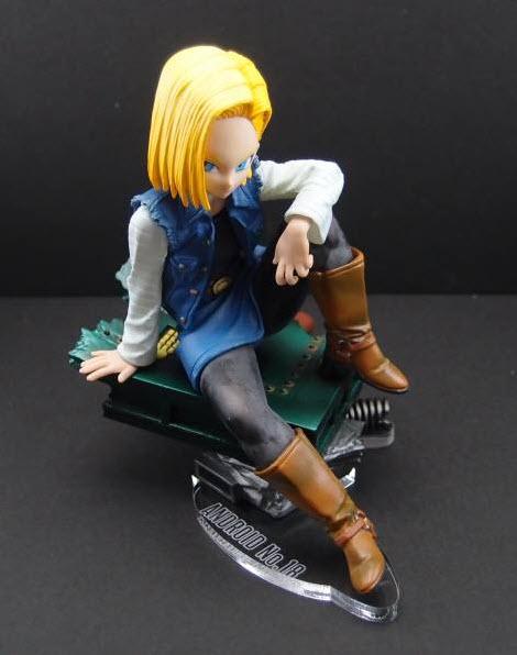 banpresto dragon_ball_z sagae_hiroshi ju-hachi_gou_(android_18) figure_colosseum scultures zoukei_tenkaichi_budoukai_3