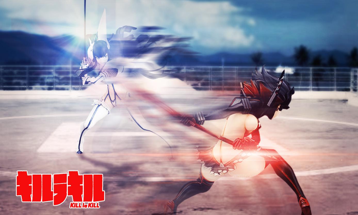 trigger phat_company kawanishi_ken nakashima_kazuki yamashita_manabu kill_la_kill matoi_ryuuko kiryuuin_satsuki senketsu