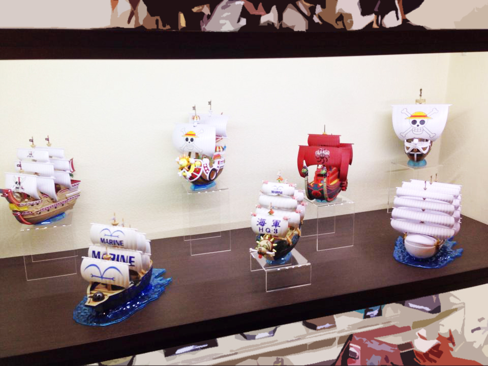 one_piece bandai shueisha thousand_sunny oda_eiichiro toei_animation going_merry moby_dick red_force one_piece_grand_ship_collection