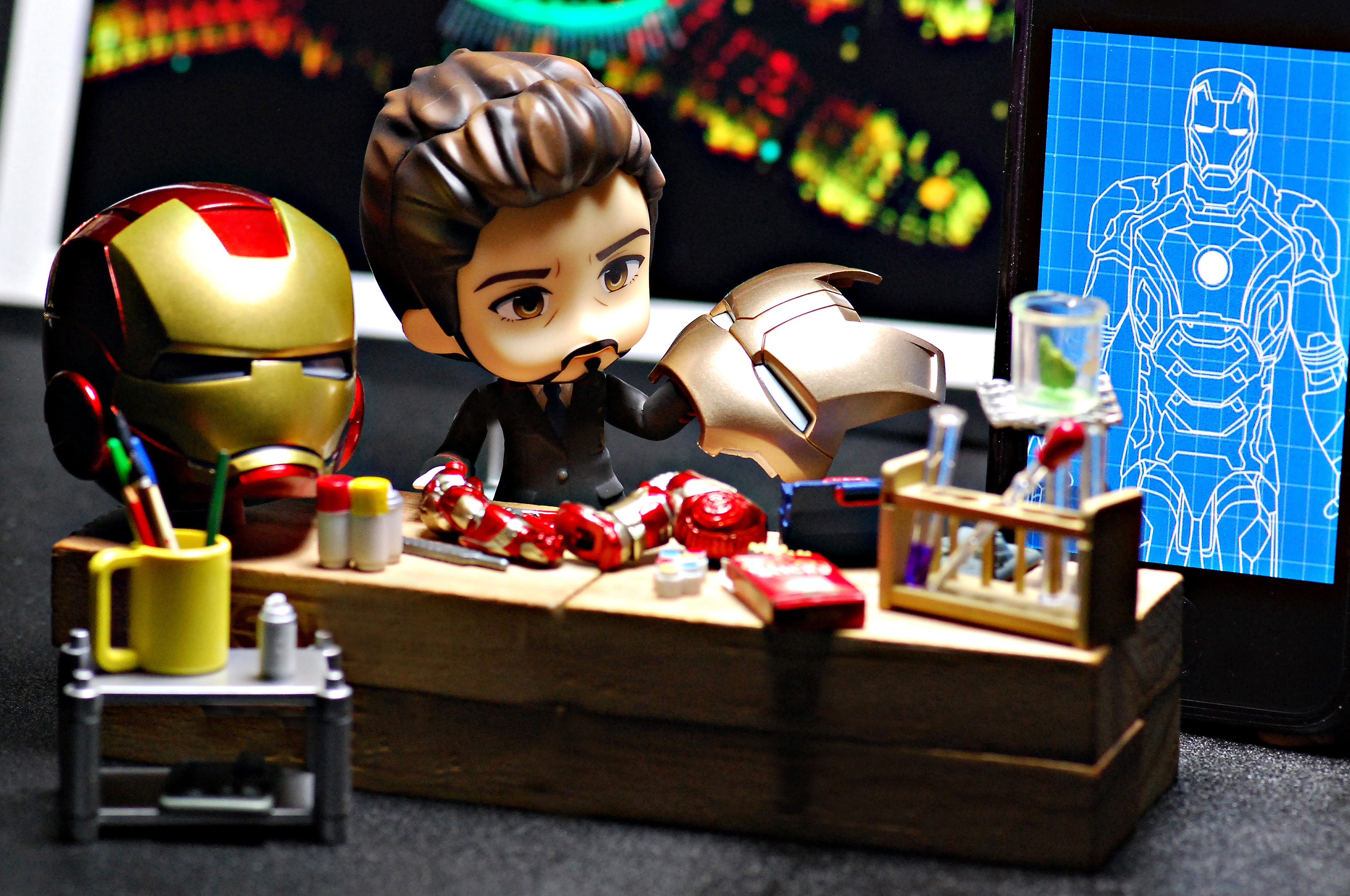 nendoroid marvel koguma_shimon orita_wataru the_avengers iron_man_mark_vii nendoron good_smile_company iron_man_3 iron_man_mark_xlii