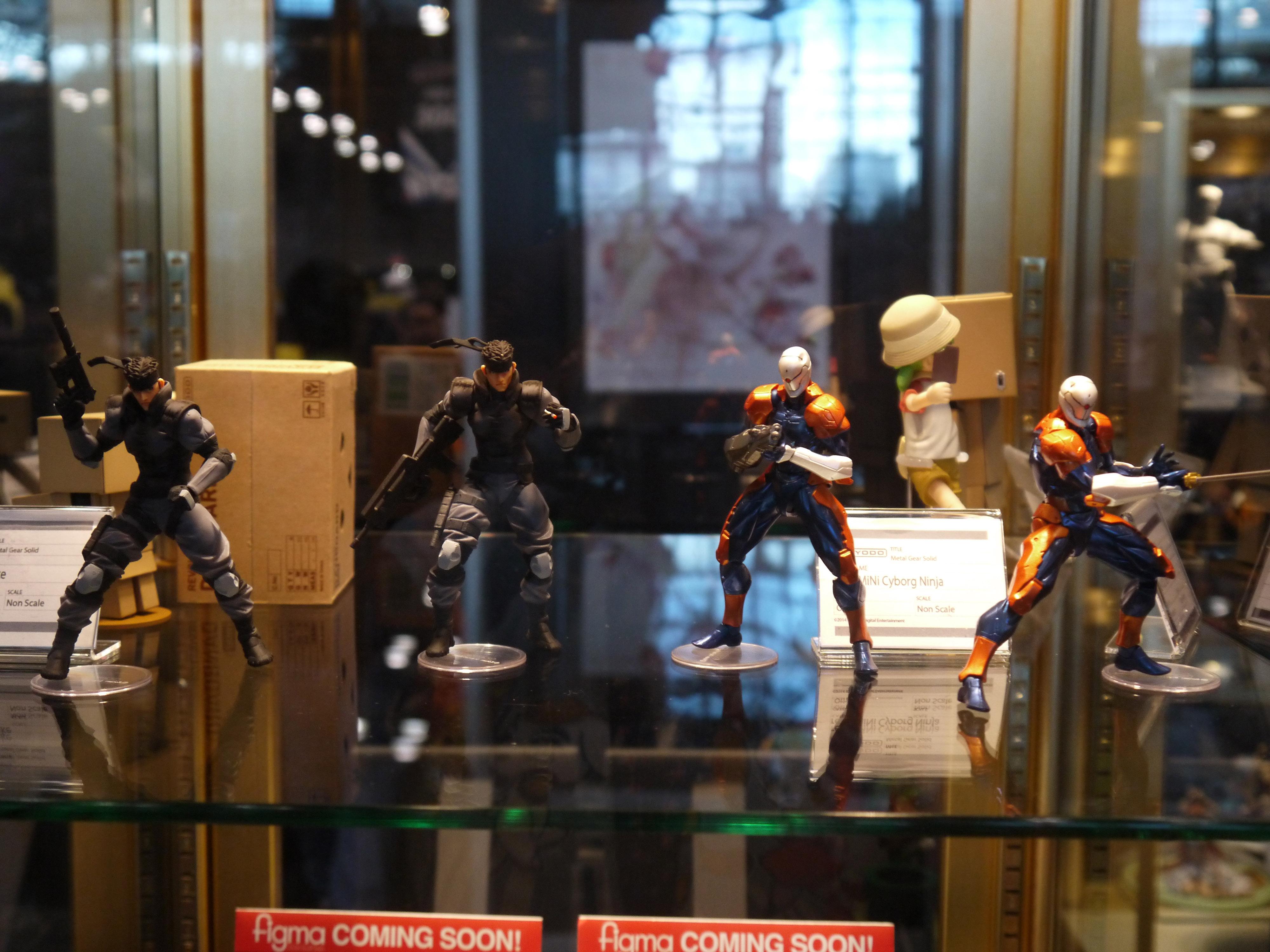 revolmini revoltech yamaguchi_katsuhisa kaiyodo solid_snake metal_gear_solid cyborg_ninja