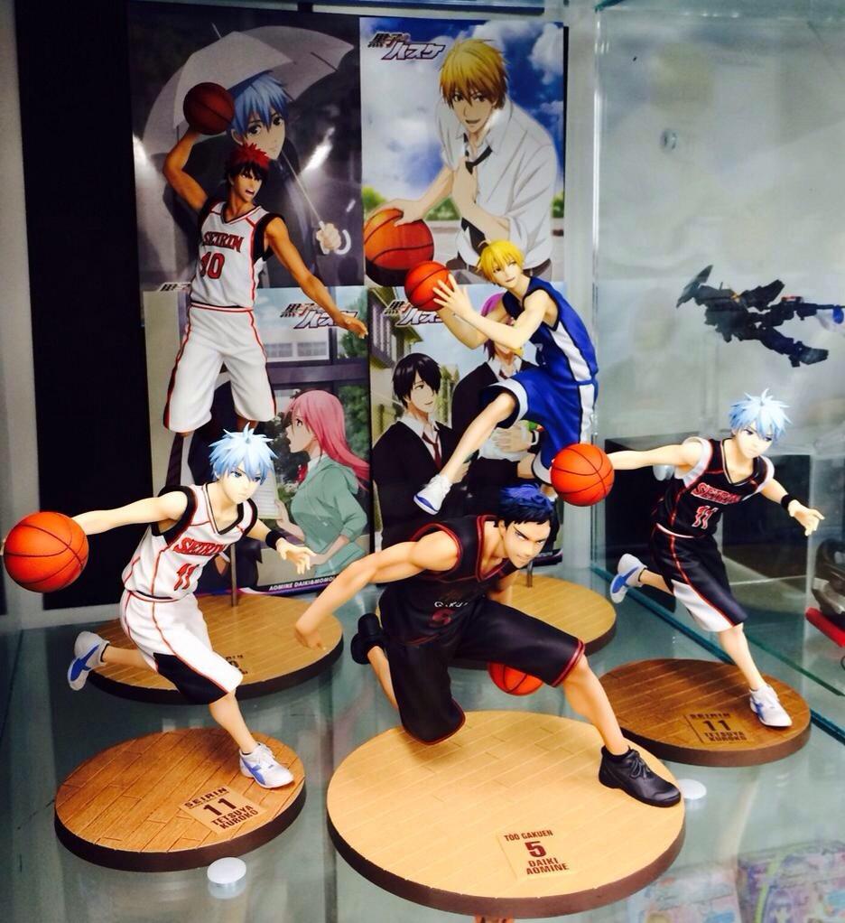 kuroko_no_basket_figure_series megahouse aomine_daiki arai_kyousuke fujimaki_tadatoshi shueisha kuroko_no_basket piron kise_ryouta kagami_taiga kuroko_tetsuya yuma