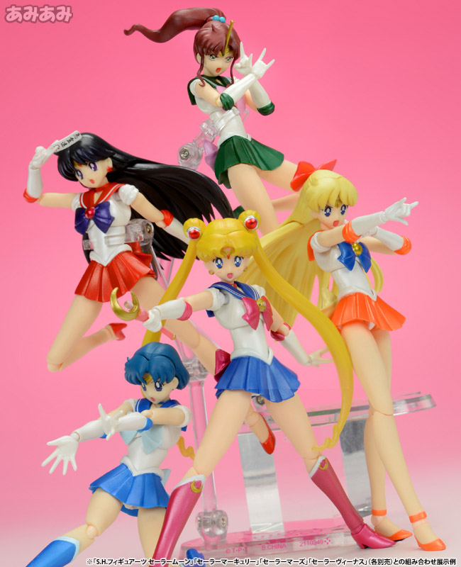 bishoujo_senshi_sailor_moon sailor_moon luna bandai takeuchi_naoko toei_animation s.h.figuarts sailor_mercury sailor_jupiter sailor_mars artemis sailor_venus