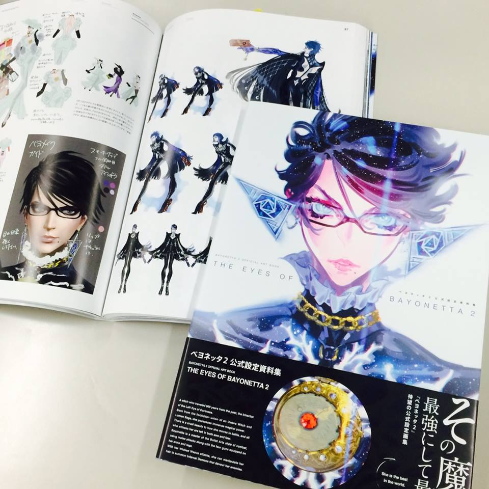 artbook ascii_media_works platinum_games bayonetta_2