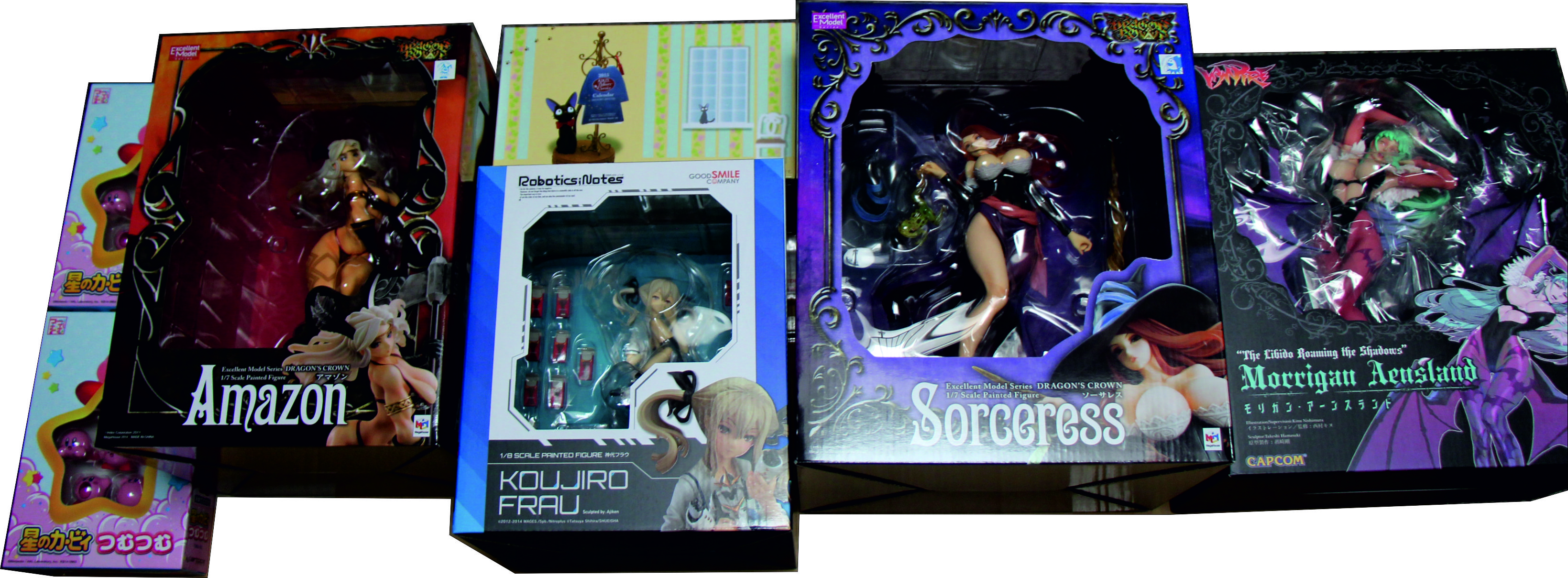 vampire megahouse calendar nintendo ghibli sorceress capcom atlus good_smile_company excellent_model amazon nitroplus ajiken kibayashi_norio ensky hamasaki_takeshi majo_no_takkyuubin studio_ghibli jiji morrigan_aensland nishimura_kinu hoshi_no_kirby hal_kenkyuujo try-x 5pb._games vanillaware george_kamitani robotics;notes koujirou_frau capcom_figure_builder_creator's_model gunvarrel dragon's_crown nobuta artbox_entertainment tsumutsumu_series