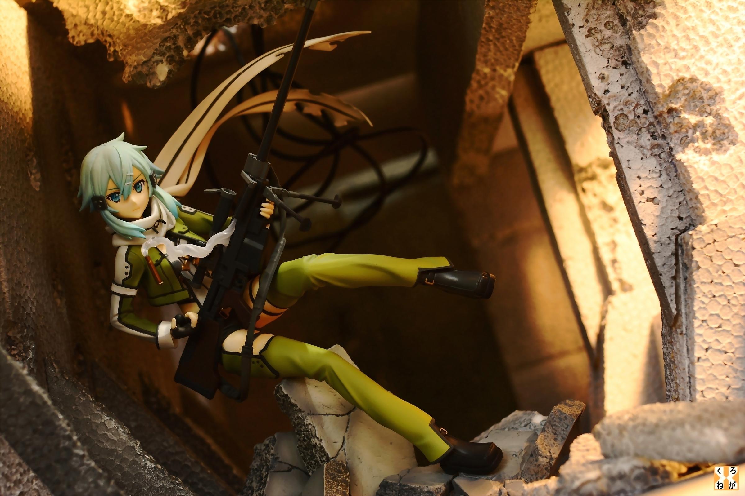 kotobukiya ascii_media_works kawahara_reki sinon hoya_mitsuru sword_art_online_ii