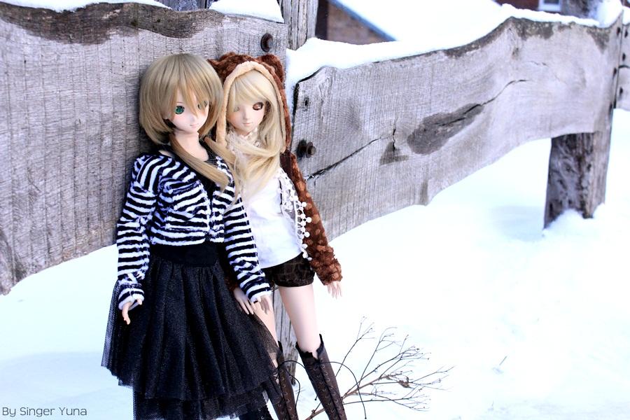 volks dollfie_dream kujikawa_rise kitahara_kousuke zoukei-mura shin_megami_tensei:_persona_4 misaki_serika persona_4:_the_animation idolm@ster_cinderella_girls shibuya_rin bandai_namco_games_inc.