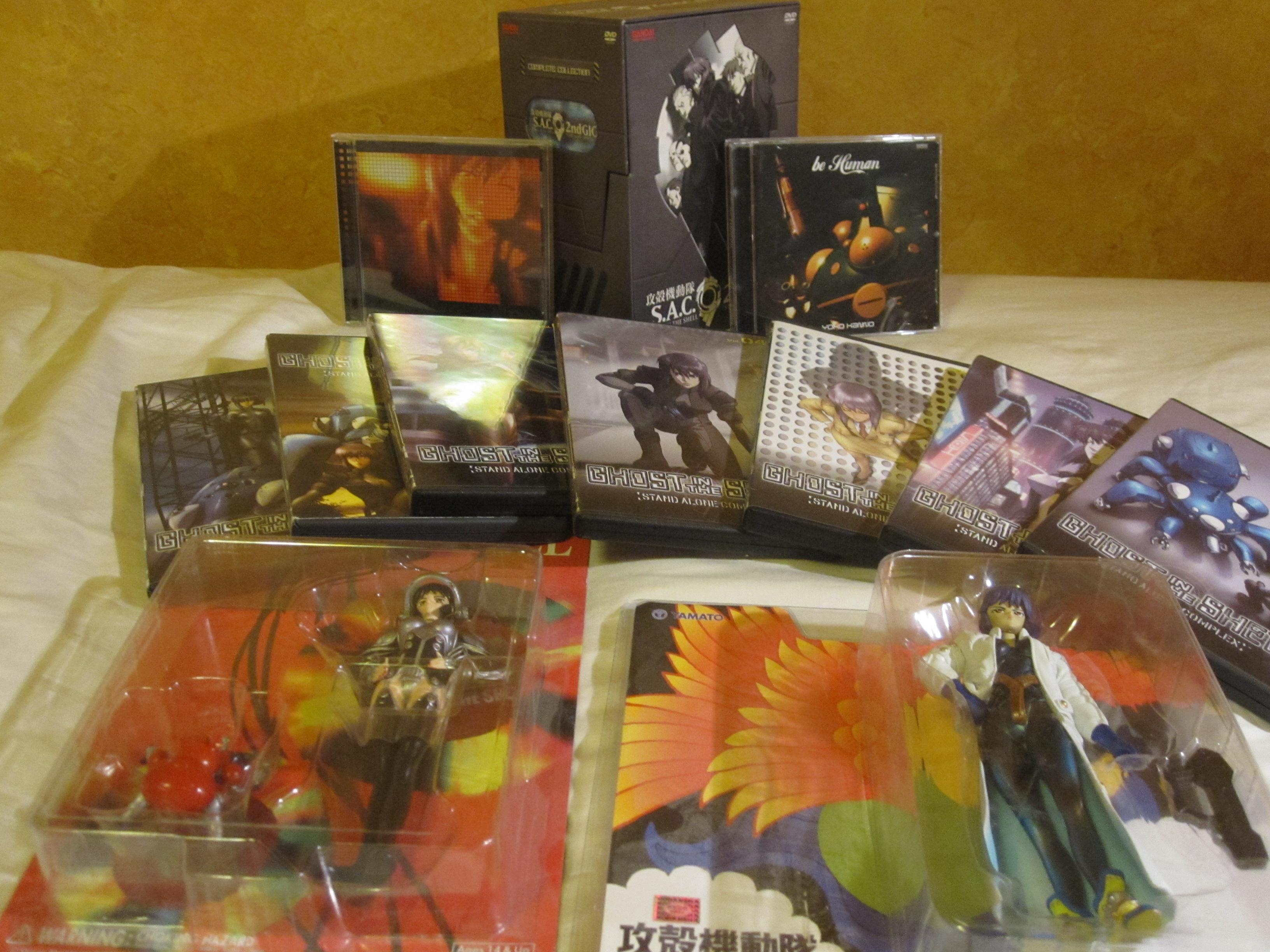 alpha album kusanagi_motoko koukaku_kidotai_s.a.c. koukaku_kidotai victor_entertainment kanno_youko original_soundtrack
