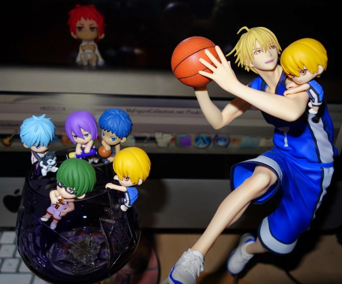 megahouse piron kuroko_no_basket kuroko_tetsuya midorima_shintarou kise_ryouta aomine_daiki murasakibara_atsushi akashi_seijuurou tetsuya_2-gou ochatomo_series kuroko_no_basket_figure_series kuroko_no_basket_ochatomo_series