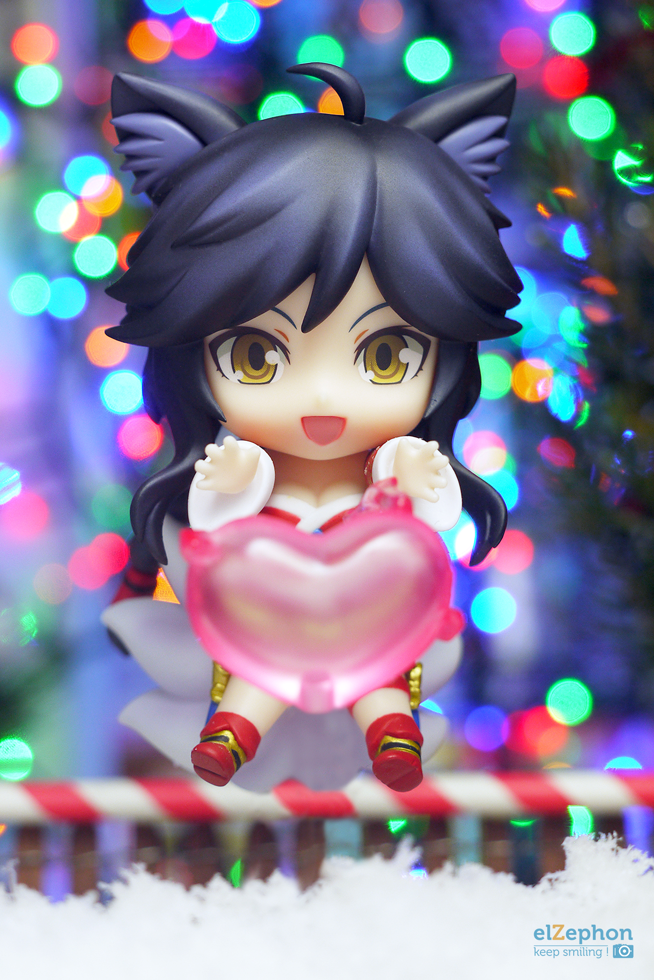 nendoroid good_smile_company nendoron league_of_legends shichibee ahri riot_games