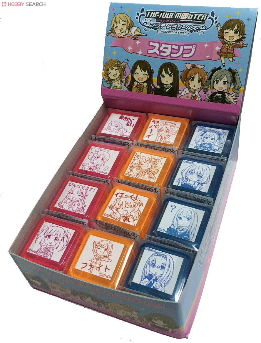 stamp idolm@ster_cinderella_girls futaba_anzu shibuya_rin takagaki_kaede jougasaki_rika kanzaki_ranko moroboshi_kirari jougasaki_mika shimamura_uzuki honda_mio abe_nana ogata_chieri sagisawa_fumika bandai_namco_games_inc. e3paper
