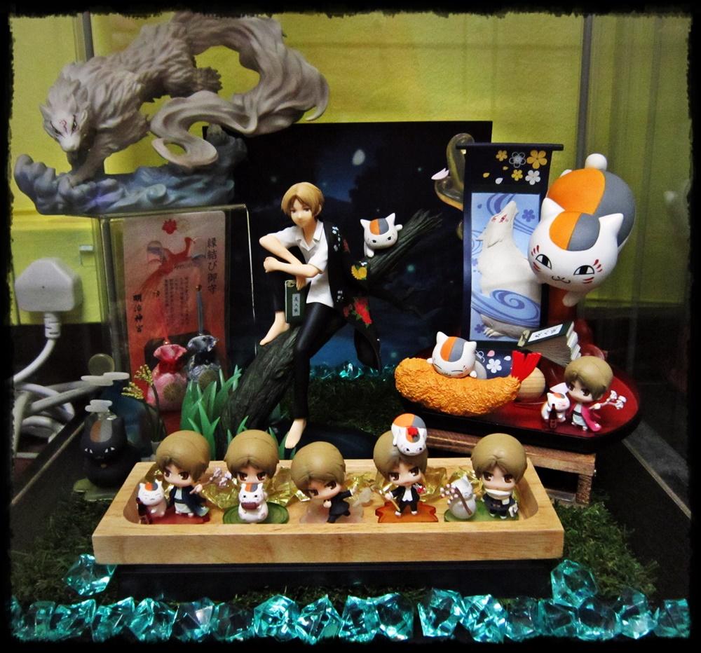 megahouse alter banpresto natsume_yuujinchou natsume_takashi ichiban_kuji altair mirano madara_(nyanko-sensei) moriwaki_naoto petit_chara_land riou_(black_nyanko) hakusensha midorikawa_yuki natsume_yuujinchou_san ichiban_kuji_natsume_yuujinchou_tribute_gallery_~under_the_stars~ watanabe_yasuhiro petit_chara_land_natsume_yuujinchou_four_seasons