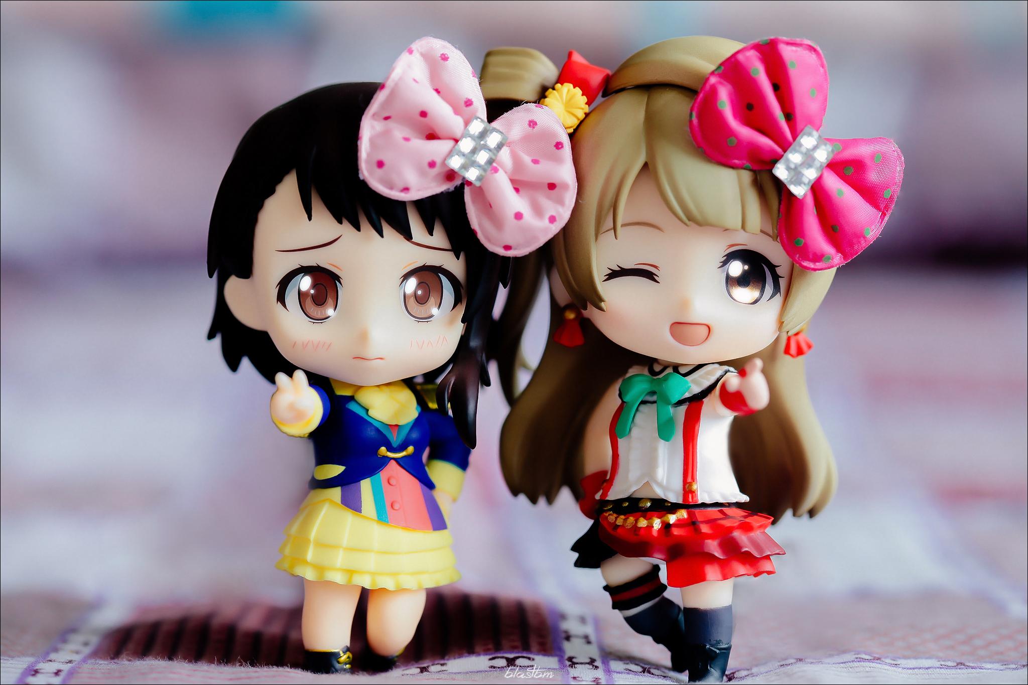 nendoroid good_smile_company shueisha nendoron love_live!_school_idol_project ehenmushi minami_kotori shichibee nisekoi komi_naoshi onodera_kosaki wake_up girls! shimada_mayu