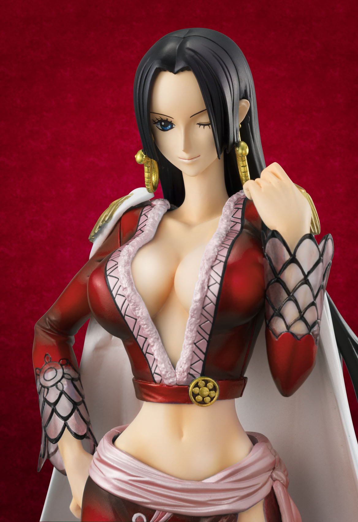 megahouse one_piece excellent_model boa_hancock ajiken oda_eiichiro portrait_of_pirates_ex