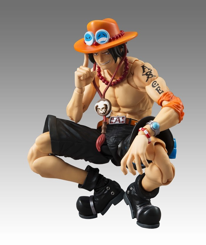 megahouse one_piece portgas_d._ace shueisha oda_eiichiro toei_animation inc. fuji_television_network variable_action_heroes