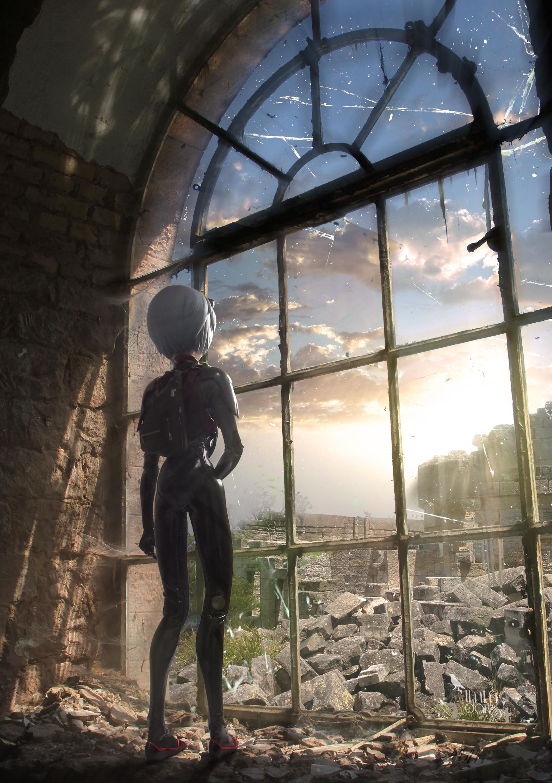 ayanami_rei medicom_toy evangelion_shin_gekijouban khara real_action_heroes suzu_(atomic-bom) perfect-studio evangelion_shin_gekijouban:_q akimoto_mieko
