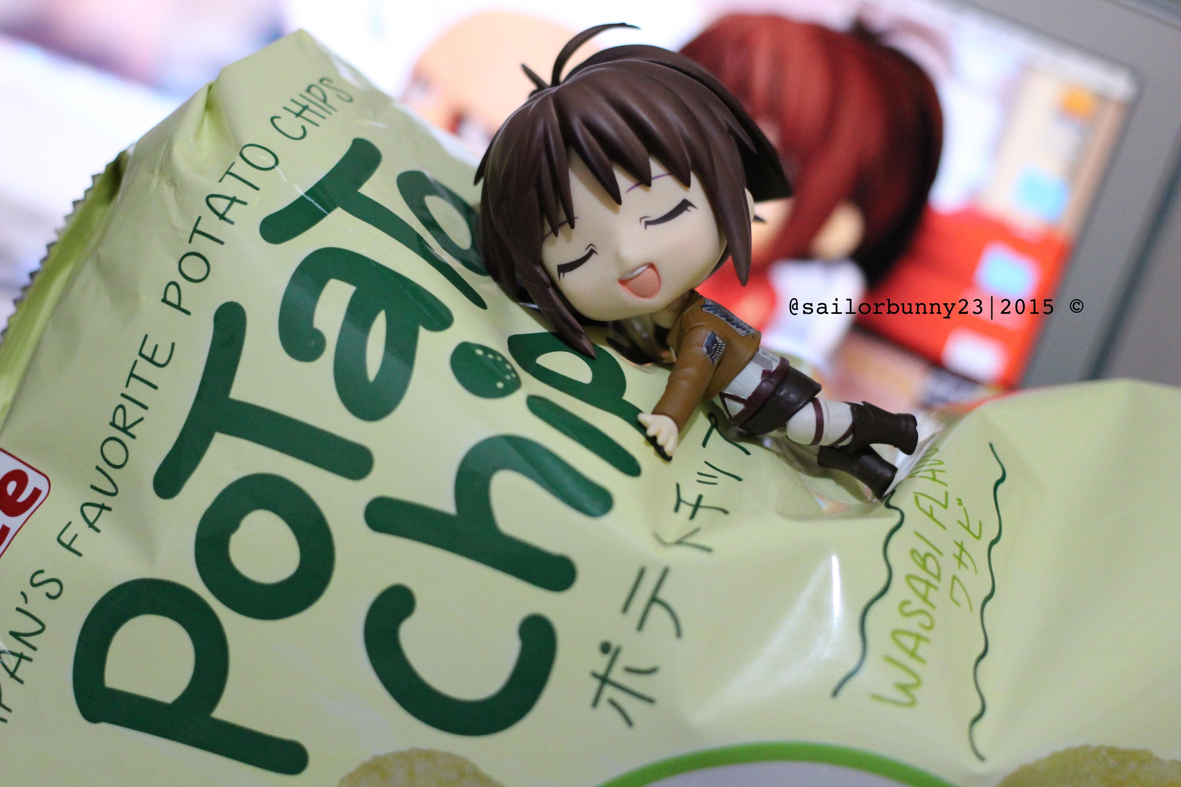 nendoroid shingeki_no_kyojin sasha_braus sasha_blouse attack_on_titan potato_girl