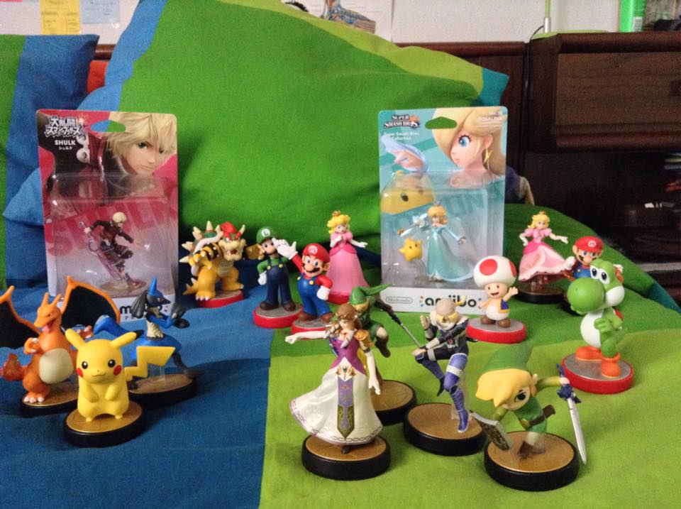 nintendo mario luigi pikachu yoshi lizardon link sheik kinopio princess_peach super_mario_brothers daimao_koopa the_pokémon_company_international chiko lucario rosetta game_freak monolith_soft creatures_inc. zelda_hime dairantou_smash_bros._for_wii_u amiibo shulk amiibo_super_mario_series amiibo_dairantou_smash_bros._series