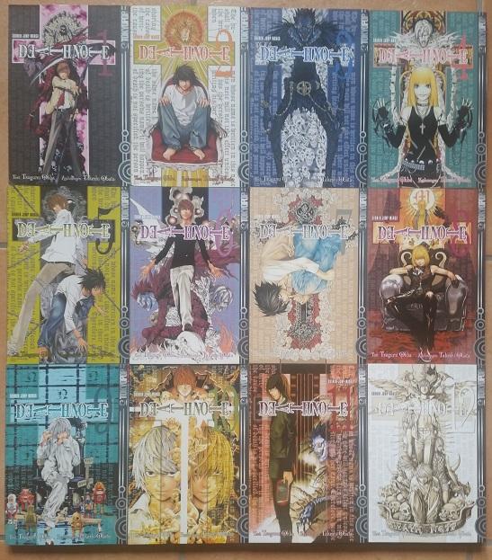 comics death_note shueisha ooba_tsugumi obata_takeshi