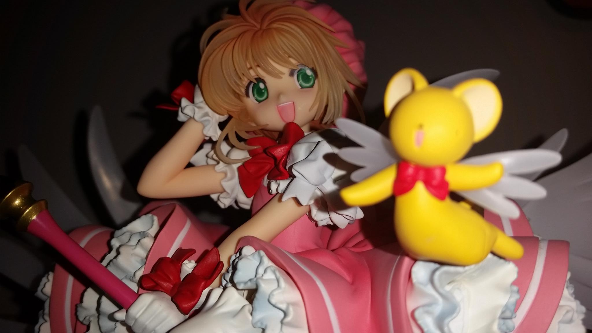 kotobukiya clamp card_captor_sakura kero-chan kinomoto_sakura nhk_enterprise kawagoe_hiromitsu artfx_j