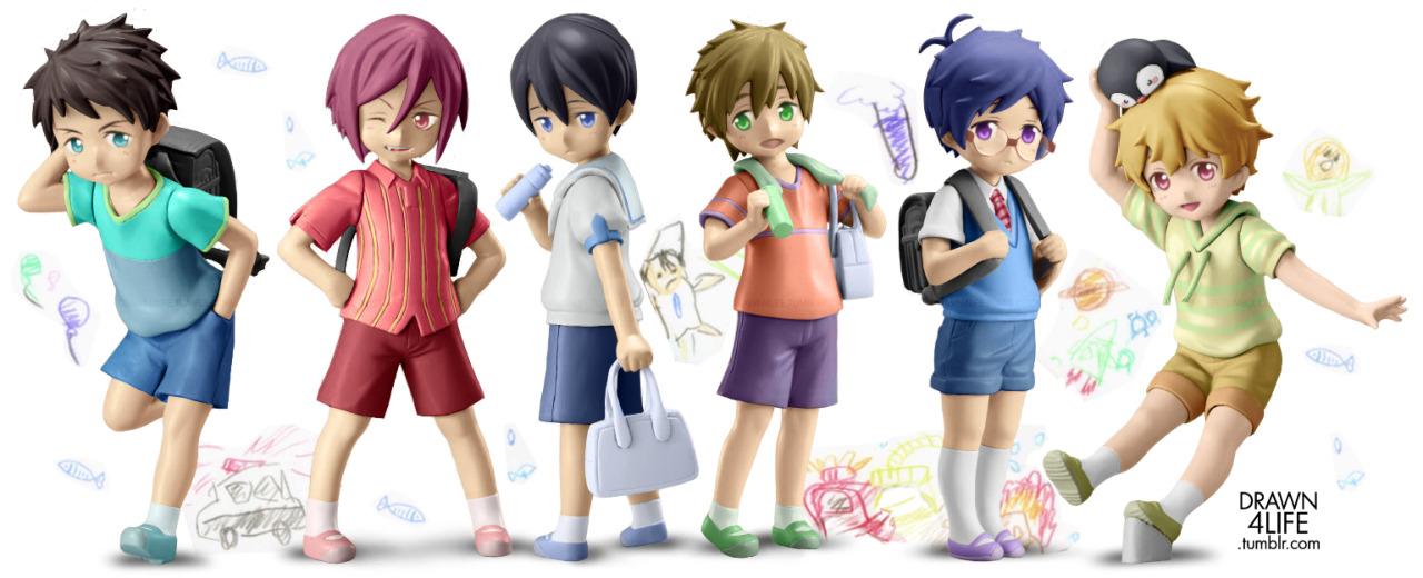 toy's_works yamaki chikai yontengo nanase_haruka tachibana_makoto matsuoka_rin hazuki_nagisa ryuugazaki_rei ooji_kouji free!_-eternal_summer- yamazaki_sousuke