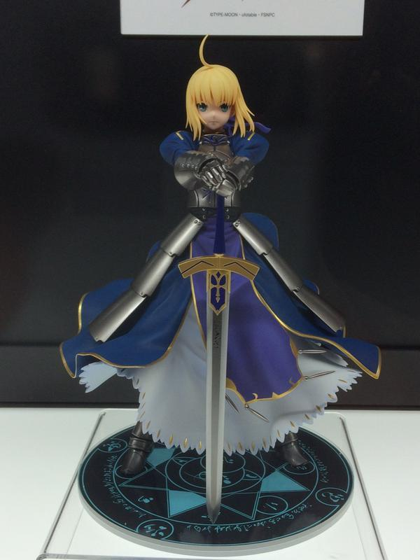 kotobukiya saber type_moon ufotable fate/stay_night_unlimited_blade_works marvelous_aql