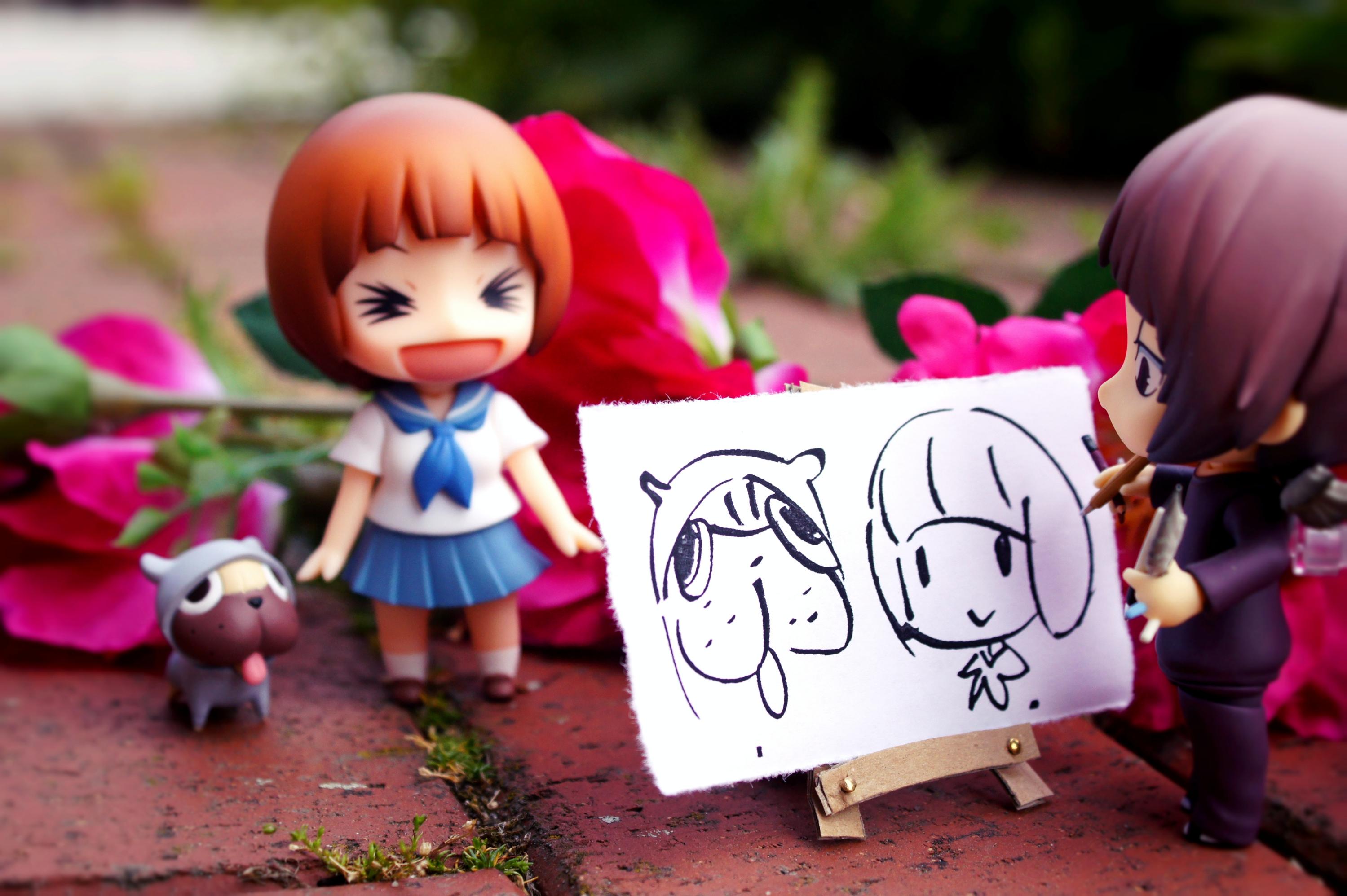 guts nendoroid good_smile_company trigger phat_company nendoron jun_(e.v.) m.i.c. niizuma_eiji bakuman. nakashima_kazuki kill_la_kill mankanshoku_mako
