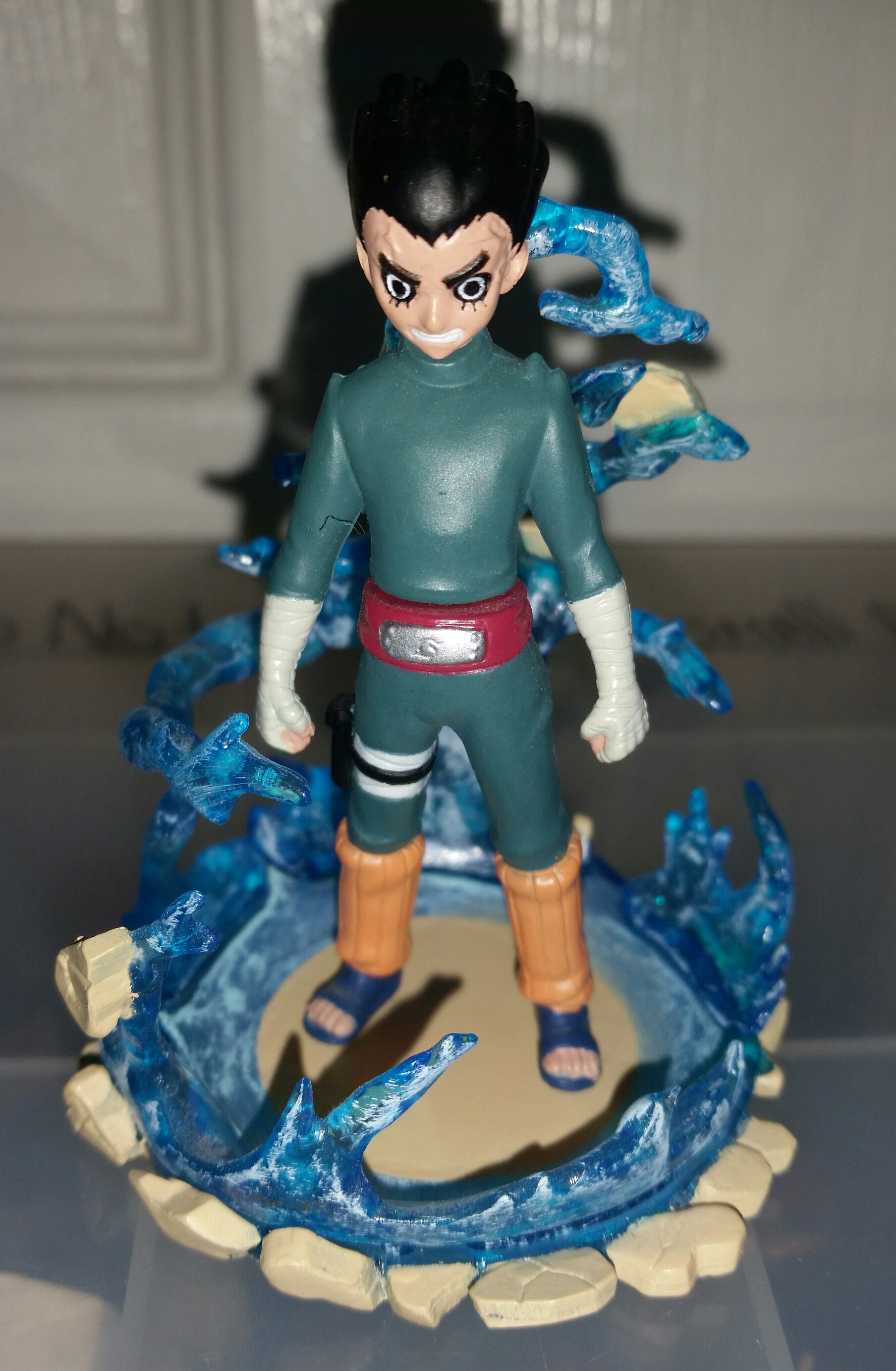 bandai naruto rock_lee