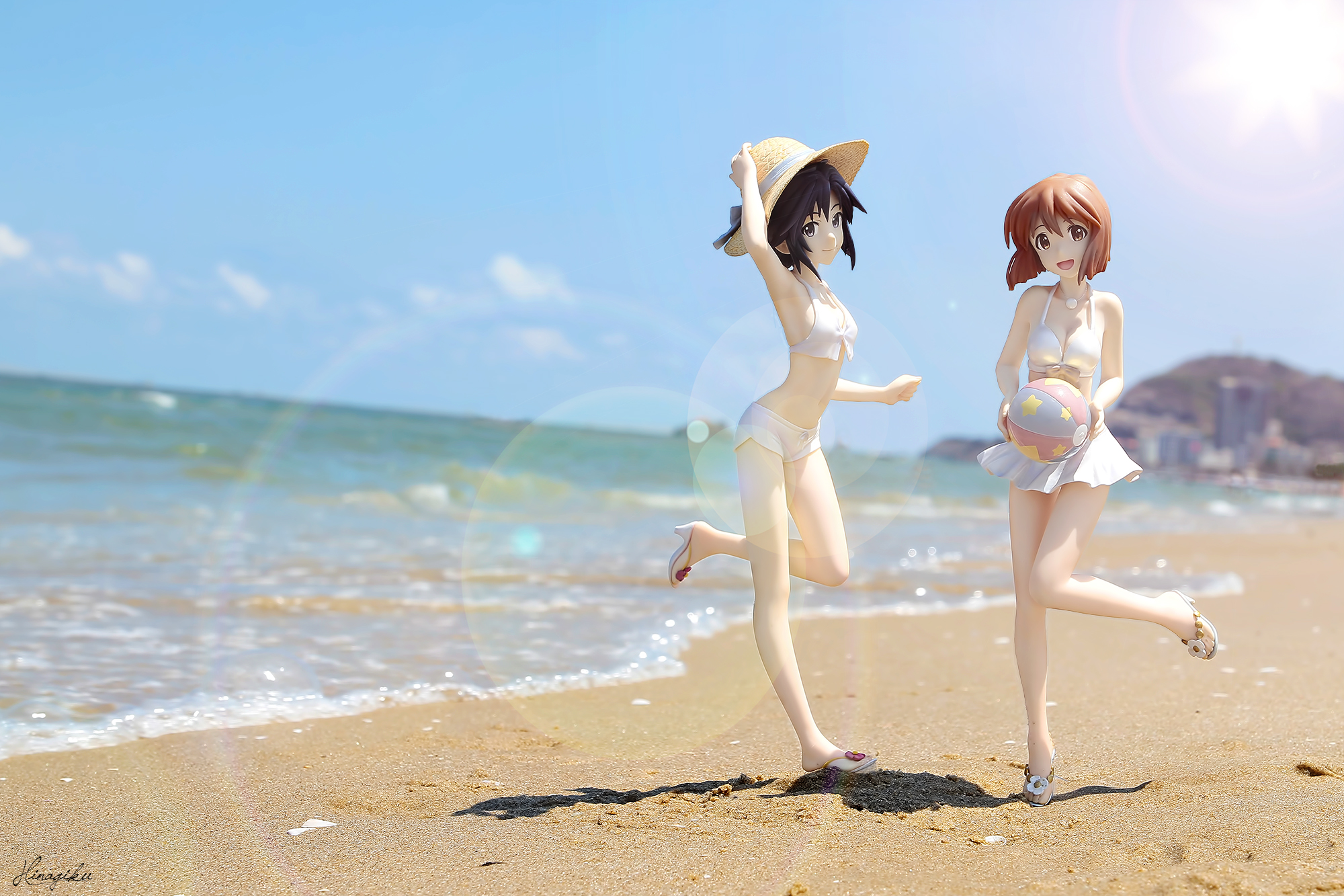 kotobukiya hagiwara_yukiho kikuchi_makoto zenko the_idolmaster_(tv_animation) bandai_namco_games_inc.
