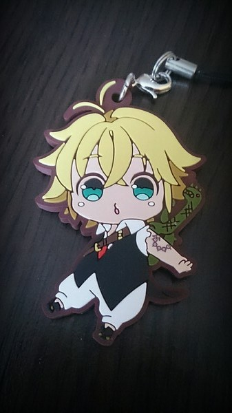 strap rubber_strap f.heart nanatsu_no_taizai meliodas suzuki_nakaba nanatsu_no_taizai_trading_rubber_collection_vol._1