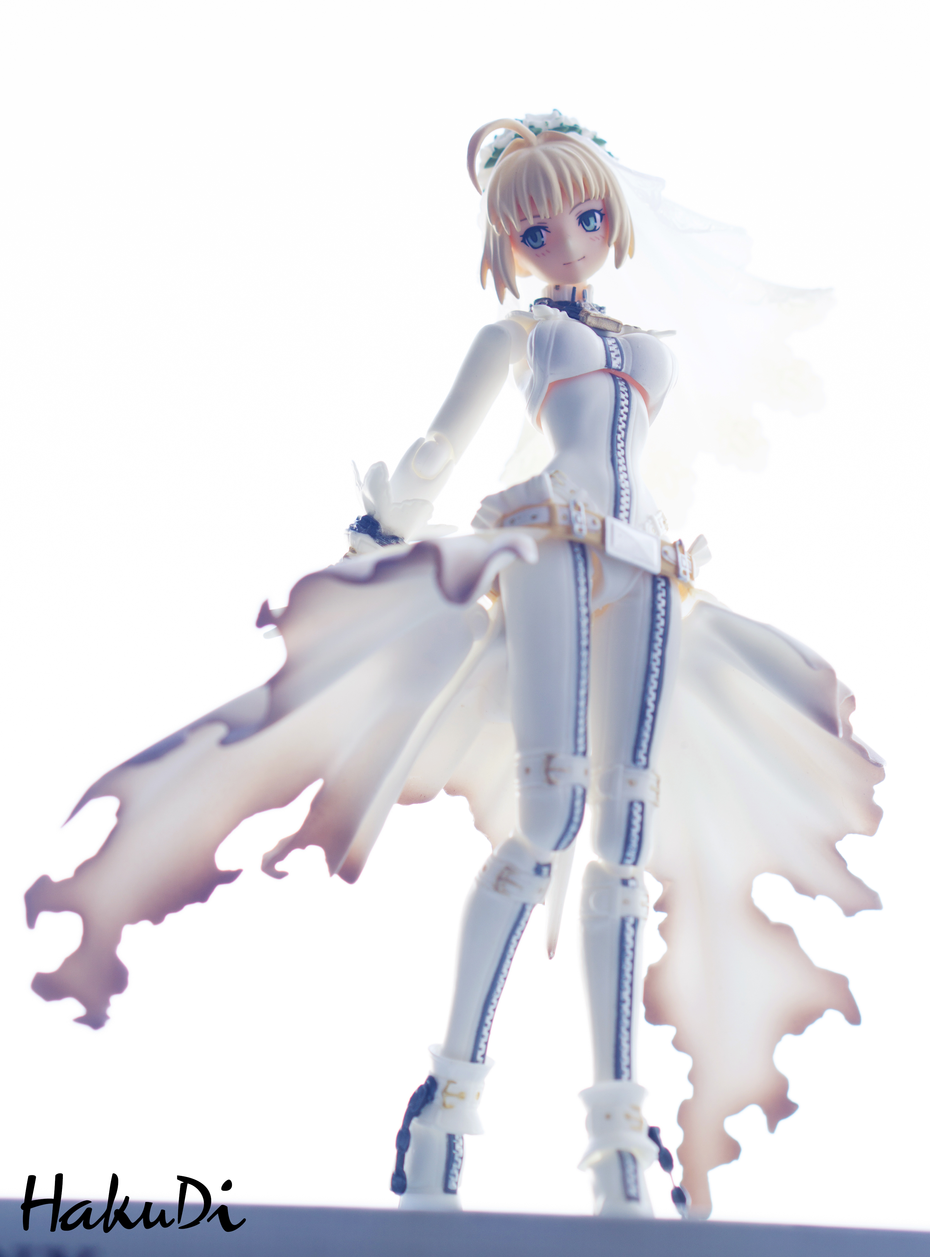 figma max_factory type_moon asai_(apsy)_masaki fate/extra_ccc saber_bride marvelous_aql