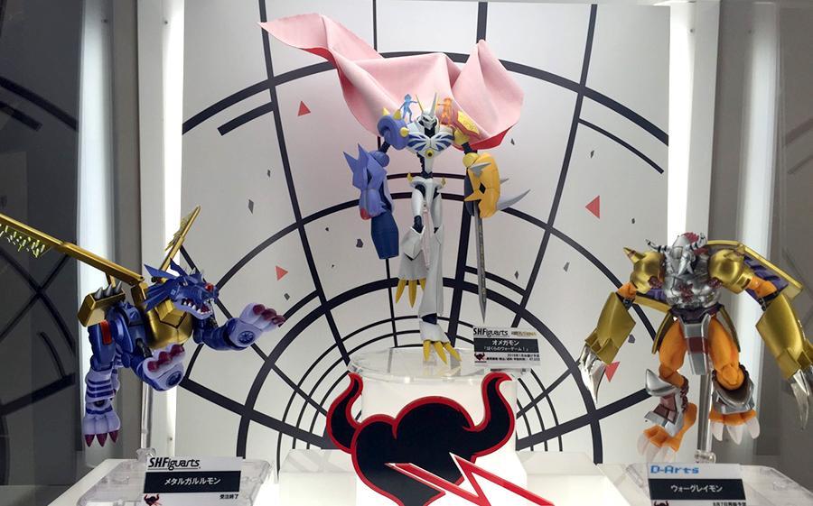 bandai omegamon digimon_adventure d-arts wargreymon s.h.figuarts toei_animation hongou_akiyoshi metalgarurumon digimon_adventure_movie:_bokura_no_war_game!