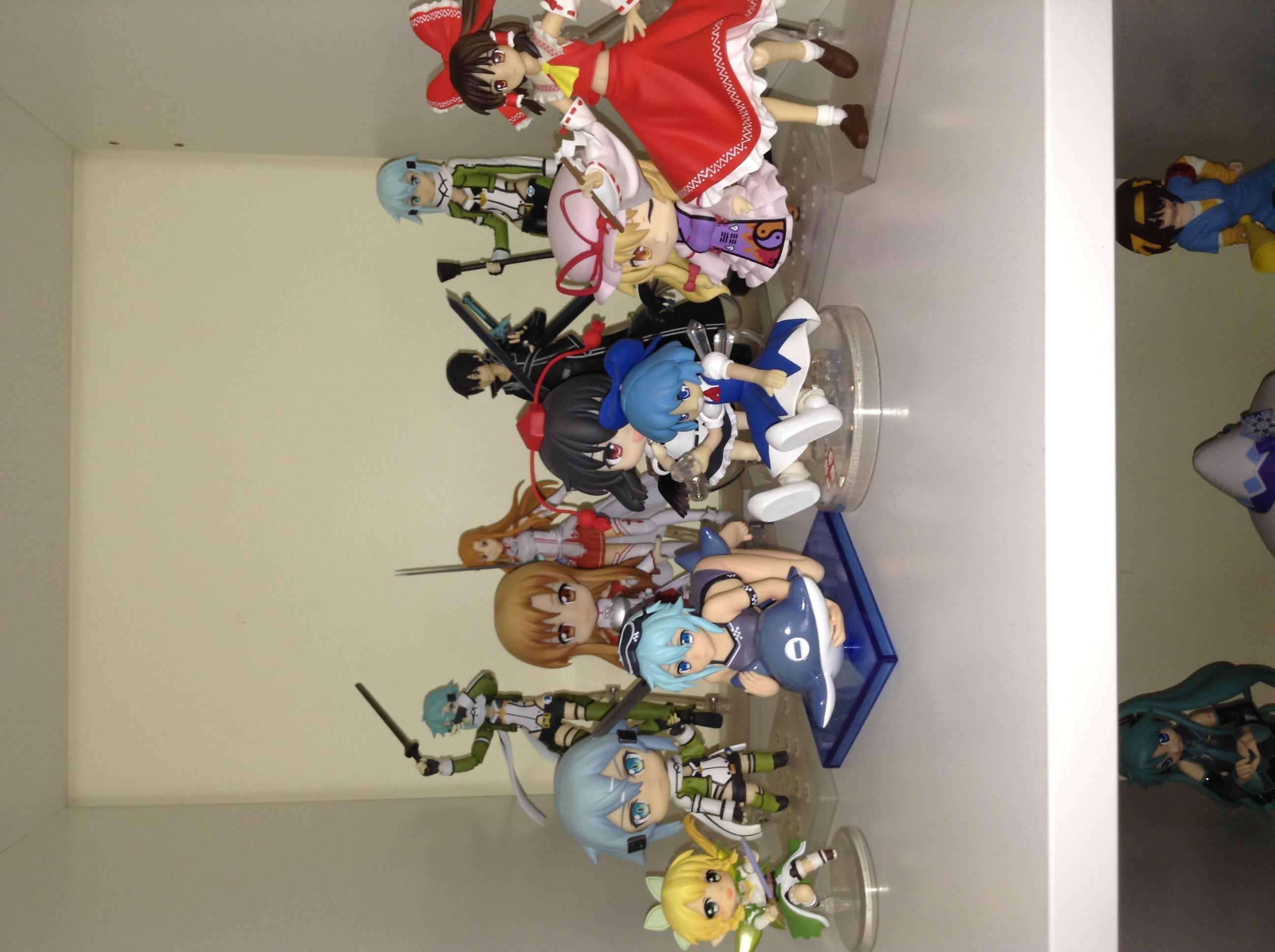 figma kotobukiya touhou_project nendoroid hakurei_reimu max_factory good_smile_company chara-ani cirno asuna liquid_stone ascii_media_works shameimaru_aya nendoron team_shanghai_alice koshinuma_shinji asai_(apsy)_masaki jun_(e.v.) toy's_works yakumo_yukari furyu niitengo nishimura_naoki mame_shiki fuumin sword_art_online shirasaki_isao kawahara_reki taizou cu-poche kirito leafa sinon sword_art_online_ii toy's_works_collection_2.5_deluxe_sword_art_online