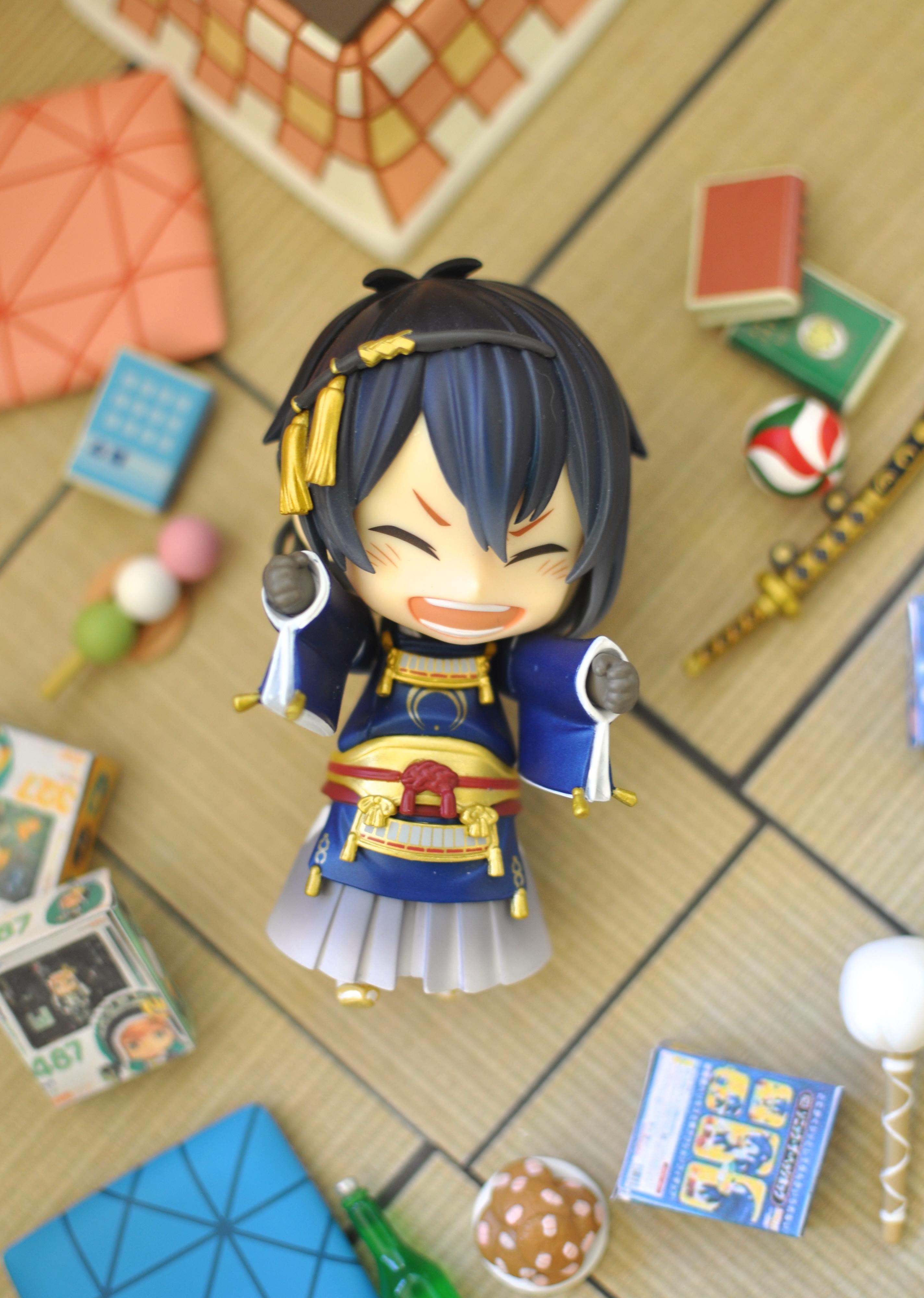 nendoroid good_smile_company shueisha nitroplus nendoron shichibee haikyuu!! furudate_haruichi hinata_shouyou sasaki_kai dmm.com mikazuki_munechika touken_ranbu_-_online katanashi