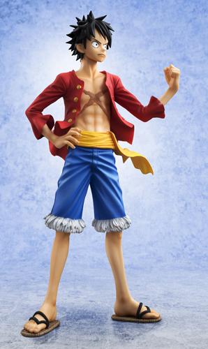 "megahouse one_piece monkey_d._luffy excellent_model shueisha oda_eiichiro toei_animation arai_kyousuke andou_kenji portrait_of_pirates_""sailing_again"" inc. fuji_television_network"