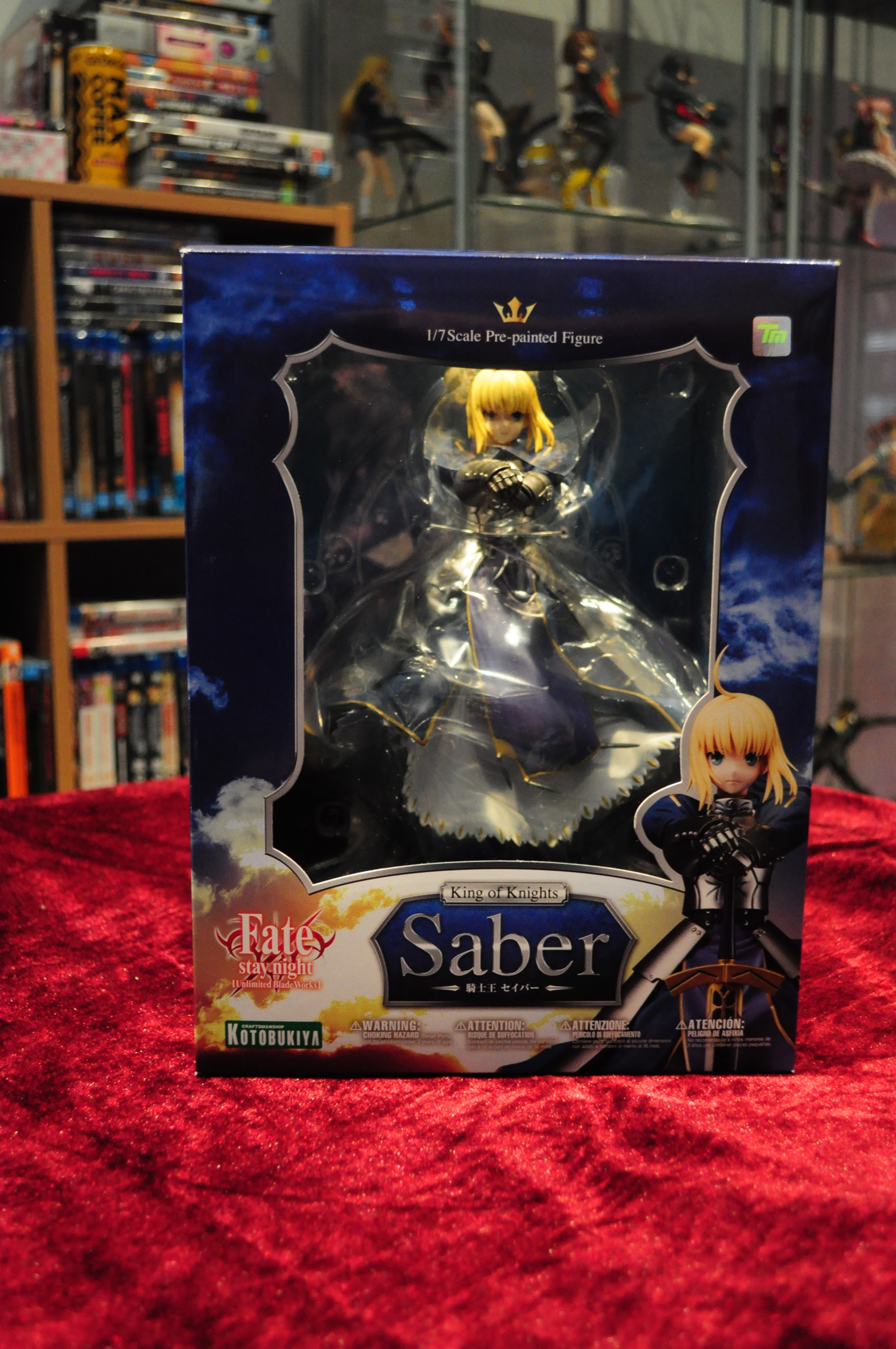 kotobukiya saber type_moon nakamura_hirotoshi ufotable fate/stay_night_unlimited_blade_works marvelous_aql
