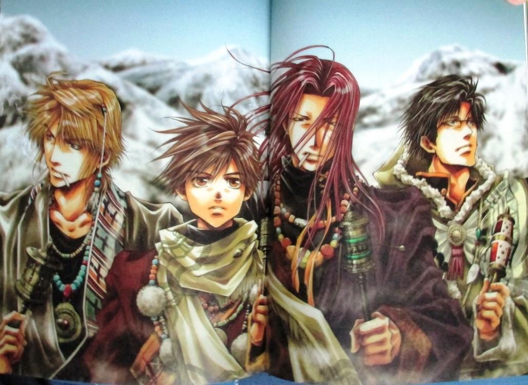 artbook ichijinsha minekura_kazuya saiyuki_gaiden hachi_no_su saiyuki_reload_blast saiyuki_ibun