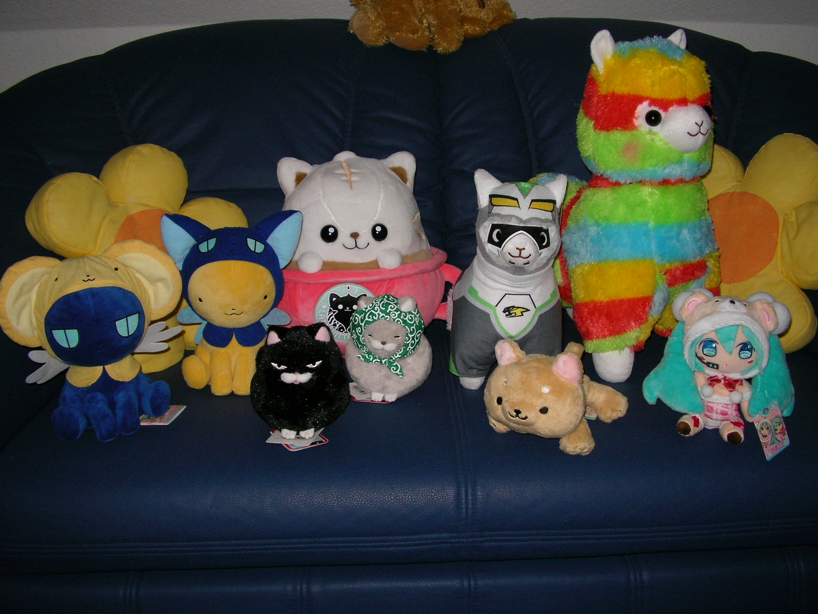 vocaloid clamp hatsune_miku banpresto card_captor_sakura kero-chan taito crypton_future_media super_dx_plush tiger_&_bunny wild_tiger spinel plush_mascot yes_anime alpacasso alpacasso_plushies kagami_leo amuse_co._ltd.
