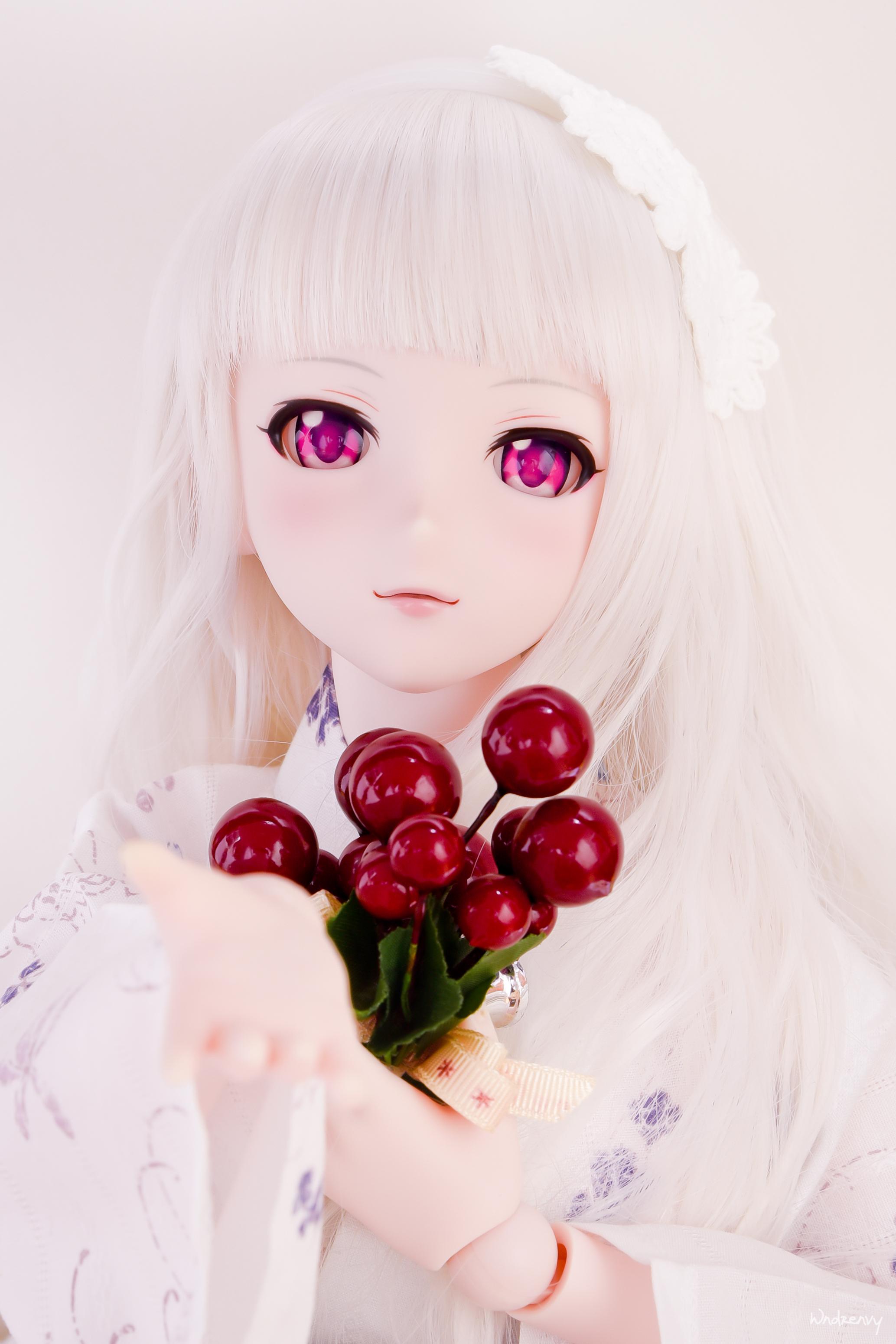 volks dollfie_dream shijou_takane misaki_serika the_idolmaster bandai_namco_games_inc.