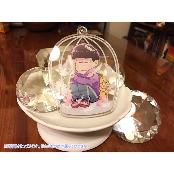 keyholder doujin_goods acrylic_keychain osomatsu-san matsuno_ichimatsu akatsuka_fujio esp_nyanko double-sided_keychain shout_for_love bee*